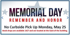 Memorial Day at the Library