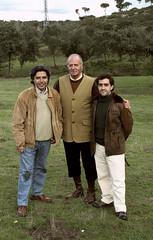 Junto al Rey Juan Carlos I de España y Muñoz Vera