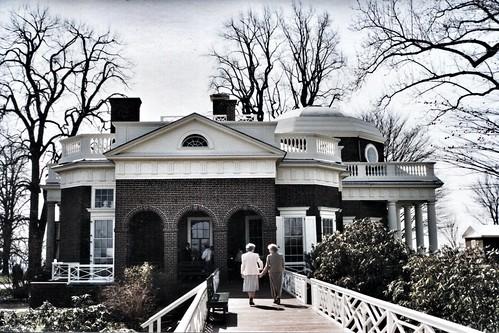 Monticello -  Thomas Jefferson House - Charlottesville Virginia -  UNESCO