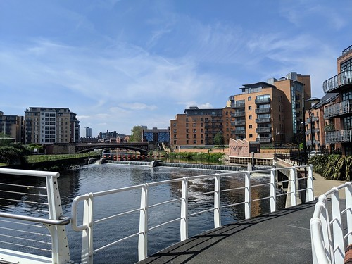 Leeds on the River Aire