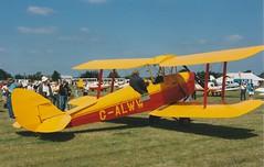 Photo of DH82A Tiger Moth G-ALWW Wellesbourne 27/06/93