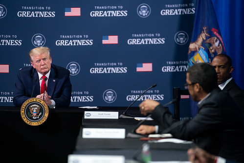 President Trump Participates in a Listen by The White House, on Flickr