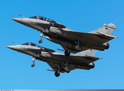 Dassault Rafale B French Air Force 4-HP n° 314 & Dassault Rafale C French Air Force 30-IP n° 111