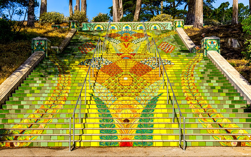 The Lincoln Park Steps