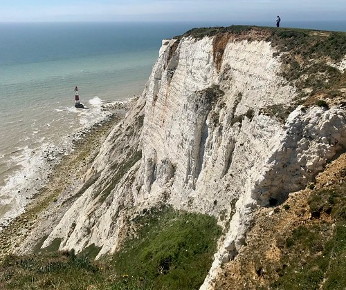 Beachy Head lighthouse and cliffs