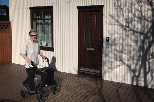 "Steinunn Bergsdóttir (87) recovering after illness • <a style=""font-size:0.8em;"" href=""http://www.flickr.com/photos/22350928@N02/49925910092/"" target=""_blank"">View on Flickr</a>"