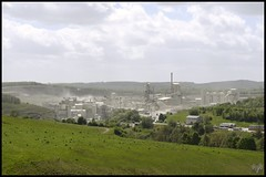 Photo of Lime & Cement Production Plant,B.L.I Tunstead Quarry,Green Fairfield,Buxton,Derbyshire.