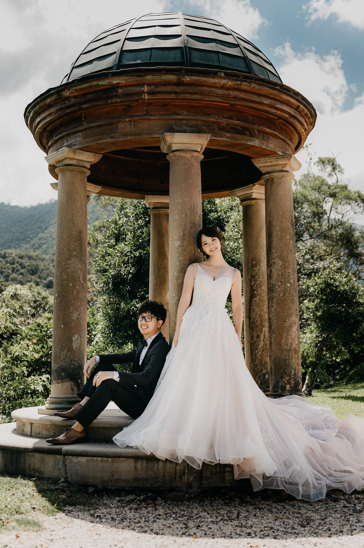 婚紗,自助婚紗,婚禮,宜蘭,仁山植物園,囍堂,婚紗推薦,婚禮推薦,外拍,景點,海邊,海灘,白紗,