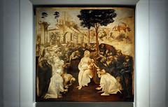 Leonardo, Adoration of the Magi