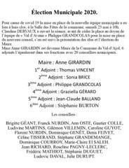 01 Élection du Maire 2020.