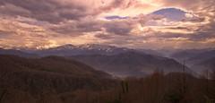 Ajaria Mountains in early spring, Georgia