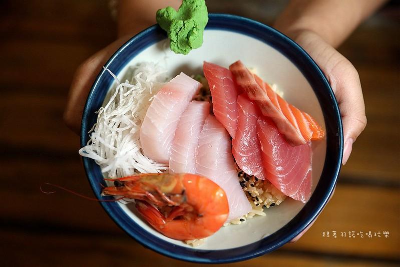 築地平價日式料理大安區六張犁新鮮平價生魚片飯15