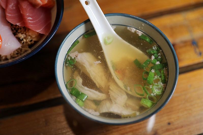 築地平價日式料理大安區六張犁新鮮平價生魚片飯25