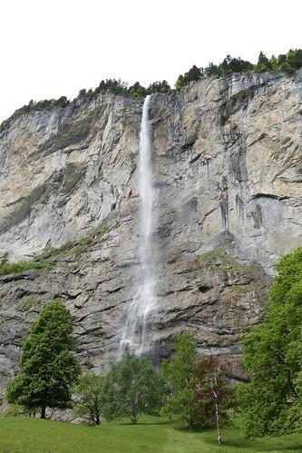 Staubbachfall Lauterbrunnen Bernese Oberland Switzerland