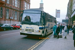Photo of Blue Bus, Horwich 101 (F701 ENE)