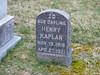 Children's grave stones,  Woburn, MA, 2020 March 24.