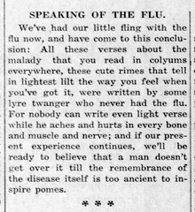 1919-02 - Spanish flu musings - Enquirer - 6 Feb 1919