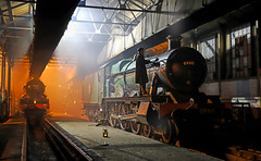 Photo of Didcot engine shed