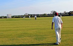 Photo of Whixley CC: Fielding on the boundary