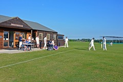 Photo of Whixley CC: Smart pavilion in the sunshine