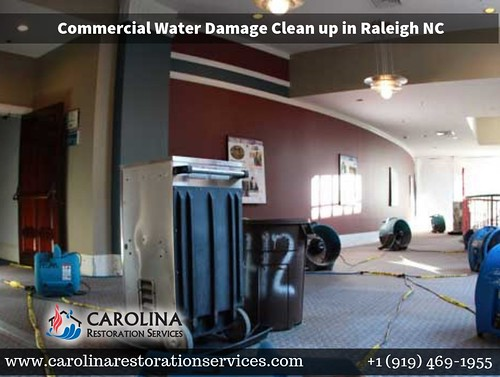 Commercial Water Damage Clean Up & Restoration in Raleigh NC