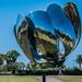 2020 - Argentina - Buenos Aires - Plaza de las Naciones Unidas - Floralis Generica - 1 of 2