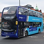 Arriva North East 7550: YX17NOF