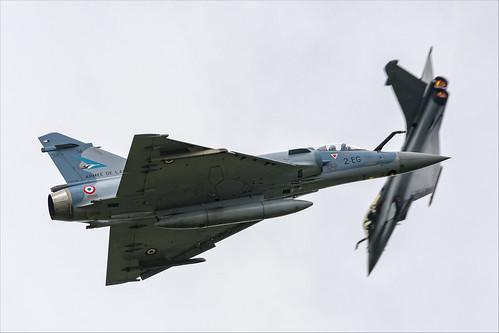 Dassault Mirage 2000-5F and Dassault Rafale C - 01
