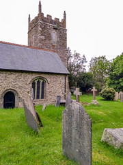 Photo of Churchyard at Ruan lanihorne, Cornwall