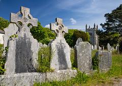 Photo of St Piran parish churchyard, Perranzabuloe, Cornwall
