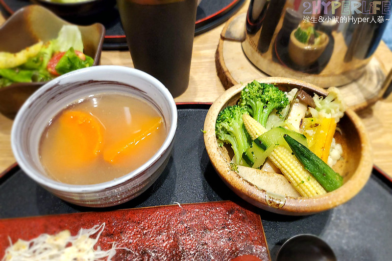 49936842026 3d99bcf820 c - 爆漿牛肉漢堡排吃的出真材實料!味道用心的日式定食,平日經濟午餐價格很實惠喔!