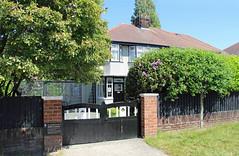 Photo of John Lennon childhood home Liverpool