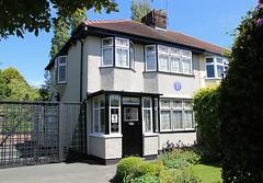 Photo of 251 Menlove Avenue - John Lennon childhood home, Liverpool