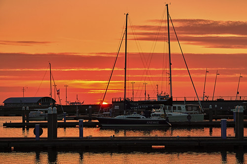 Lelystad Sunset Bataviahaven