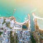 Aerial view of Thongsala Town