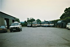 Photo of Richards Brothers' Newport Yard, August 1996