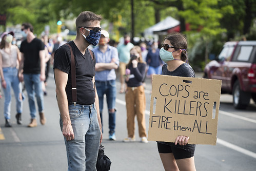 Protest against police violence - Justic by Fibonacci Blue, on Flickr