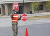 South Carolina National Guard directs traffic at Swansea testing site