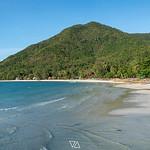 Panorama view of Chaloklum Baech  on Phangan Island, Thailand