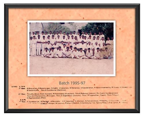 IARD Batch 1995-97 - IARD, Coimbatore