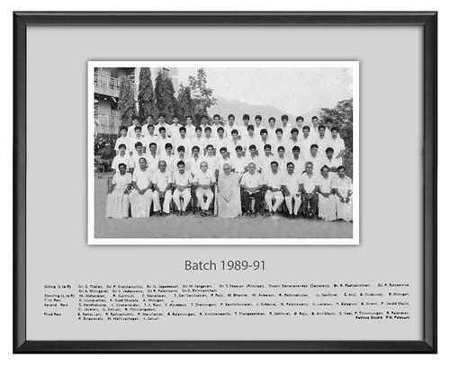 Batch 1989-91 - IARD, Coimbatore