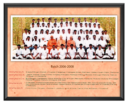 Batch 2006-2008 - IARD, Coimbatore