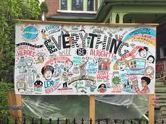 Uplifting neighbourly art