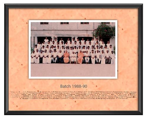 Batch 1988-90 - IARD, Coimbatore