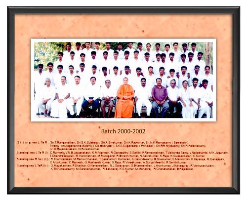 Batch 2000-2002- IARD, Coimbatore