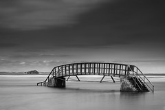 Photo of Bass Rock & a Bridge