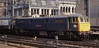 Class 86: 86204 'City of Carlisle' Glasgow Central