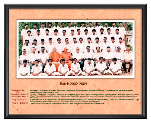 Batch 2002-2004 - IARD, Coimbatore