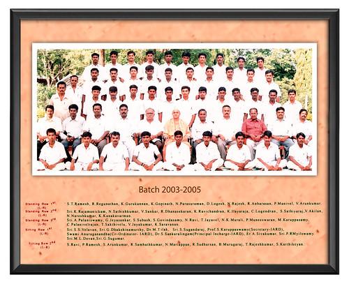 Batch  2003-2005 - IARD, Coimbatore