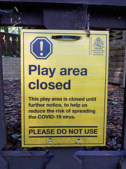 Photo of Closed play area_COVID-19 pandemic_20200521_124100a